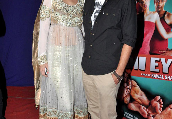 Photo Of Dimple Patel,Nimesh Srivastava From The First look launch of 'Delhi Eye'