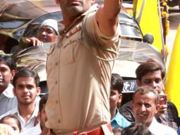 Movie Still From The Film Shooter,Suniel Shetty