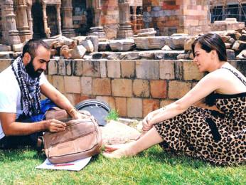 Movie Still From The Film On The Ramp,Ranvir Shorey,Urvashi Sharma