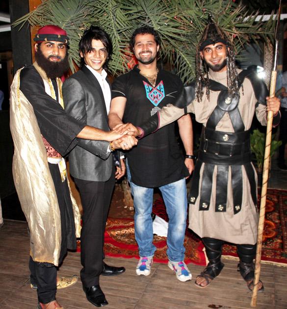Chandrashekar, Aman Khan, Mudasir Ali, Ashfaqulla Khan