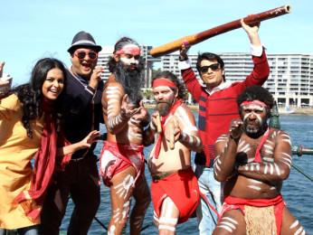 Movie Still From The Film From Sydney With Love,Evelyn Sharma,Prateek Chakravorty,Sharad Malhotra