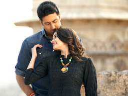 Movie Still From The Film Bol Bachchan,Abhishek Bachchan,Prachi Desai