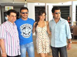 Kumar S Taurani, Vivek Oberoi, Neha Sharma, Vinnil Markan