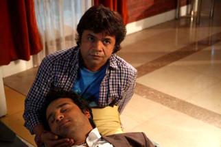 Movie Still From The Film Mera Naam Chin Chin Choo,Rajpal Yadav,Krishna Abhishek