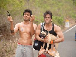 Movie Still From The Film Kyaa Super Kool Hain Hum,Riteish Deshmukh,Tusshar Kapoor