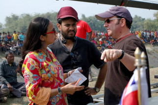 On The Sets Of The Film Chittagong,Shonali Bose,Bedabrata Pain