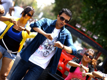 Movie Still From The Film No Entry Pudhe Dhoka Aahey,Bharat Jadhav