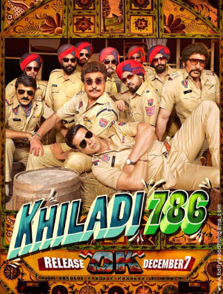 First Look Of The Movie Khiladi 786