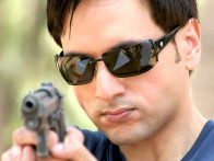 Movie Still From The Film Aakhari Decision,Amar Sidhu