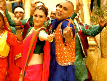 Movie Still From The Film My Friend Ganesha 3,Eva Grover, Baba Sehgal