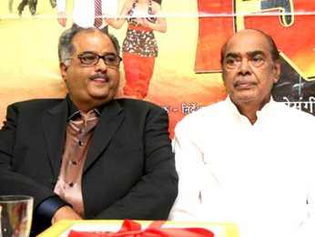 Photo Of Boney Kapoor,D Rama Naidu From Boney Kapoor unveils 'Shiva' music album