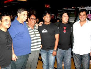 Photo Of Sanjay Chhel,David Dhawan,Satish Kaushik,Irfan Kamal,Piyush Jha,Rumi Jaffery From Special screening of Thanks Maa for directors