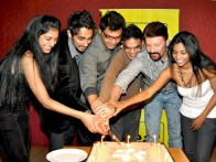 Photo Of Nicollete Bird,Siddharth,Chandan Arora,Ankur Vikal,Aditya Pancholi,Padmapriya From The Success party of Striker