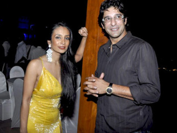 Photo Of Suchitra Pillai,Wasim Akram From Sushmita and Wasim Akram grace Candice-Lubna-Asif-Vipul Bday bash