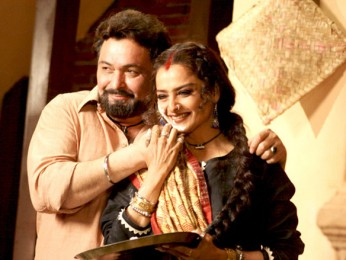 Movie Still From The Film Sadiyaan,Rishi Kapoor,Rekha