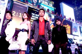 Movie Still From The Film Badmaash Company,Meiyang Chang,Anushka Sharma,Shahid Kapoor,Vir Das