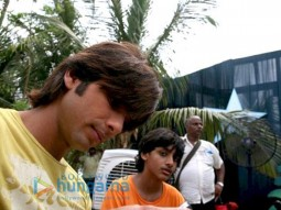 On The Sets Of The Fillim of Chance Pe Dance Featuring,Shahid Kapoor