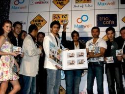 Photo Of Sanda Caktas,Sameer Aftab,Devang Dholkia,Sunil Shetty,Anuj Sawhney,Farid Amiri From Audio release of 3 Nights 4 Days