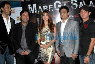 Photo Of Kim Sharma,Dabboo Malik,Farid Amiri From Audio release of Marega Salaa