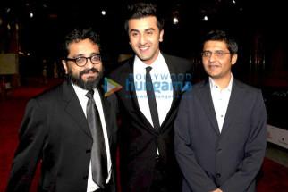 Photo Of Shimit Amin,Ranbir Kapoor,Jaideep Sahni From Ranbir attends the Rocket Singh premiere at 6th Annual Dubai International Film Festival