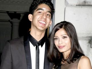 Photo Of Dev Patel,Freida Pinto From Screening of 'Slumdog Millionaire' at Somerset House in London