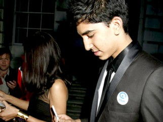 Photo Of Dev Patel From Screening of 'Slumdog Millionaire' at Somerset House in London