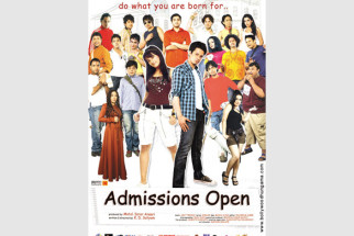 First Look Of The Movie Admissions Open