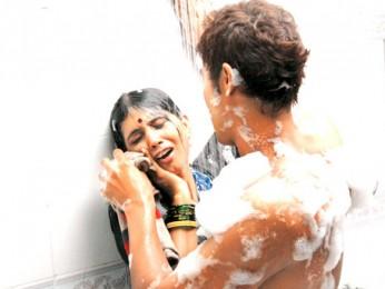 Movie Still From The Film Love Khichdi Featuring Randeep Hooda,Sonali Kulkarni