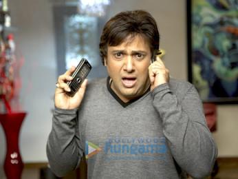 Movie Still From The Film Do Knot Disturb Featuring Govinda