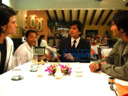 On The Sets Of The Fillim of Aladin Featuring,Sujoy Ghosh,Ritesh Deshmukh,Saahil Khan