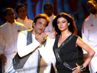 On The Sets Of The Fillim of Do Knot Disturb Featuring,Sushmita Sen,Govinda