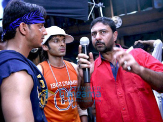 On The Sets Of The Fillim of Fast Forward Featuring,Rehan Khan,Akshay Kapoor,Zaigham Ali Syed
