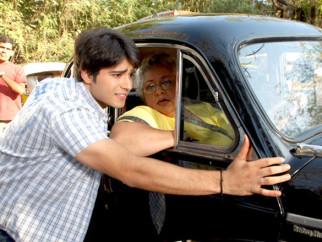 Movie Still From The Film Vroom,Gaurav Bajaj,Daisy Irani
