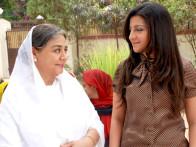 Movie Still From The Film Krantiveer - The Revolution,Farida Jalal,Jahan Bloch