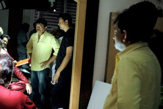 On The Sets Of The Film Rakta Charitra - I Featuring Vivek Oberoi,Shatrughan Sinha,Abhimanyu Shekhar Singh,Sushant Singh,Zarina Wahab,Aashish Vidyarthi,Suriya
