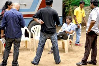 On The Sets Of The Film Rakta Charitra - I Featuring Vivek Oberoi,Shatrughan Sinha,Abhimanyu Shekhar Singh,Sushant Singh,Zarina Wahab,Aashish Vidyarthi,Suriya