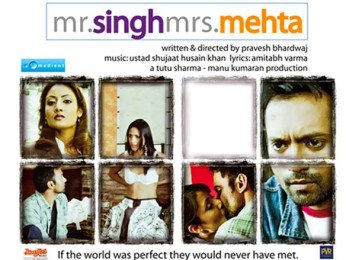 First Look Of The Movie Mr. Singh Mrs. Mehta