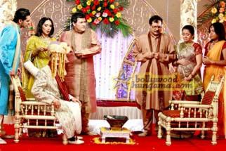 Movie Still From The Film Straight Featuring Vinay Pathak,Ketaki Dave,Rasik Dave,Siddharth Makkar