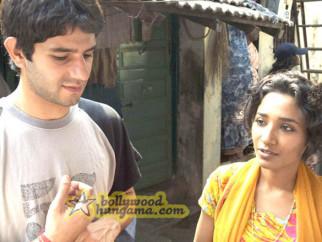Movie Still From The Film Barah Aana Featuring Arjun Mathur,Tannishtha Chatterjee