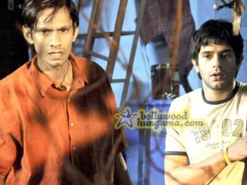 Movie Still From The Film Barah Aana Featuring Vijay Raaz,Arjun Mathur