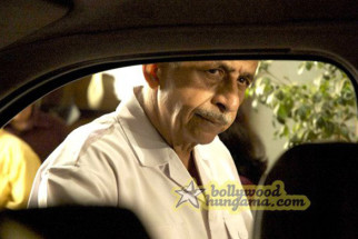 Movie Still From The Film Barah Aana Featuring Naseruddin Shah