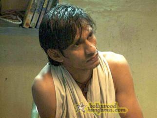 Movie Still From The Film Barah Aana Featuring Vijay Raaz