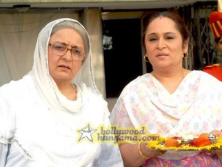 Movie Still From The Film Aloo Chaat Featuring Dolly Ahluwalia