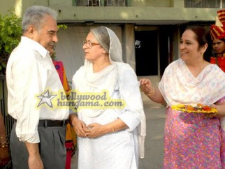 Movie Still From The Film Aloo Chaat Featuring Kulbhushan Kharba