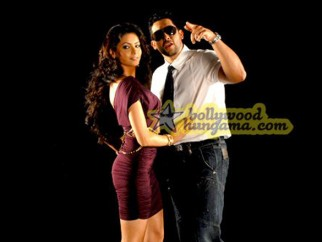 Movie Still From The Film Aloo Chaat Featuring Aamna Shariff,Aftab Shivdasani