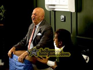 Movie Still From The Film Daddy Cool Featuring Kim Sharma,Prem Chopra