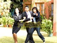 Movie Still From The Film Daddy Cool Featuring Aftab Shivdasani,Tulip Joshi,Chunky Pey