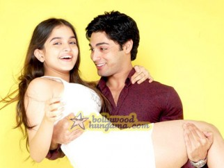 Movie Still From The Film Teree Sang Featuring Ruslaan Mumtaz,Sheena Shahabadi