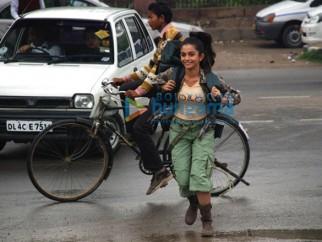 Movie Still From The Film Teree Sang Featuring Sheena Shahabadi