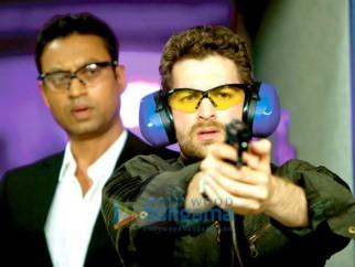 Movie Still From The New York Film Featuring Irrfan Khan,Neil Nitin Mukesh
